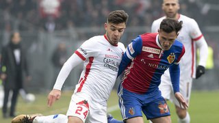Super League: le FC Sion n'y arrive toujours pas à Bâle en championnat et s'incline sur la plus petite des marges
