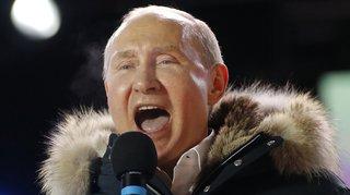 Russie: Vladminir Poutine réélu pour un 4e mandat avec 75% des voix