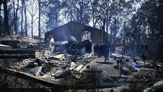 Violents incendies enAustralie, des dizaines de maisons détruites