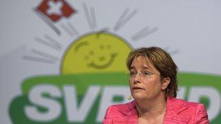 Suisse: Magdalena Martullo-Blocher élue à la vice-présidence de l'UDC