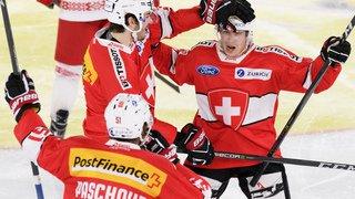Hockey: la Suisse bat à nouveau difficilement la Biélorussie