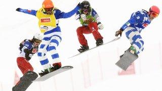 Snowboard: en attendant l'éclosion de ses jeunes, le cross suisse tire la langue