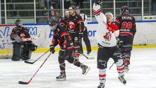 Le HC Sion II, vainqueur 6-4 de Red Ice, revient à 1-1 dans la finale
