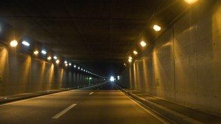 Valais: les tunnels de l'A9 feront l'objet de travaux d'entretien en avril et mai