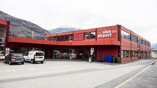 Aéroport de Sion: restrictions de vol en raison d'un manque de personnel à la tour de contrôle