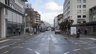 Trois projets ont été retenus pour le réaménagement de l'avenue de la Gare à Martigny