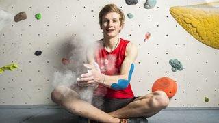 Louis Bétrisey, le Valaisan qui monte dans le monde de l'escalade sportive