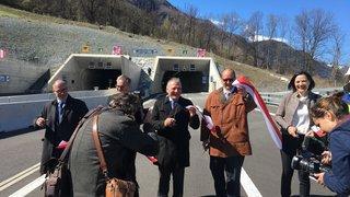 A9: le tunnel d'Eyholz officiellement ouvert