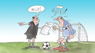 Foot régional: insultes et mauvais gestes, l'AVF va rendre public son catalogue de sanctions dès la saison prochaine