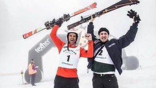 Vercorin: Le défi des 300, le plus grand slalom populaire du monde, en images