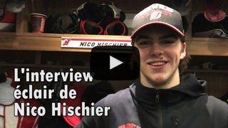 NHL: l'interview éclair de Nico Hischier