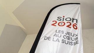 La candidature pour Sion 2026 a coûté 1 million à l'Etat du Valais