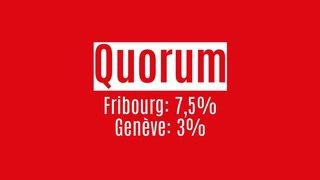 La constituante à Fribourg et Genève