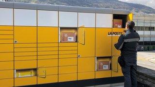 Sion: les colis postaux accessibles 24heures sur 24