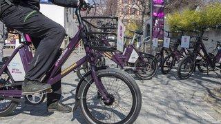 Les vélos en libre-service PubliBike débarquent à Sierre