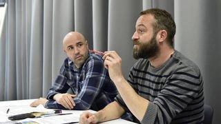 Sion: Fred Recrosio et Greg Zavialoff ont échangé leurs bons tuyaux pour réussir comme artiste-entreprise