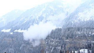 Champéry: une avalanche est descendue aux Rives