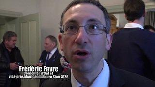Valais: la soirée officielle d'accueil des athlètes aurait-elle existé sans le projet Sion 2026? Interview de Frédéric Favre