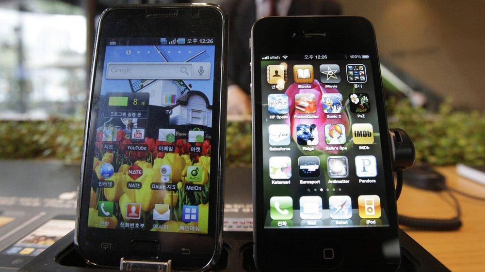 Technologie: Samsung doit 533 millions de dollars d'amende à Apple pour violation de brevet