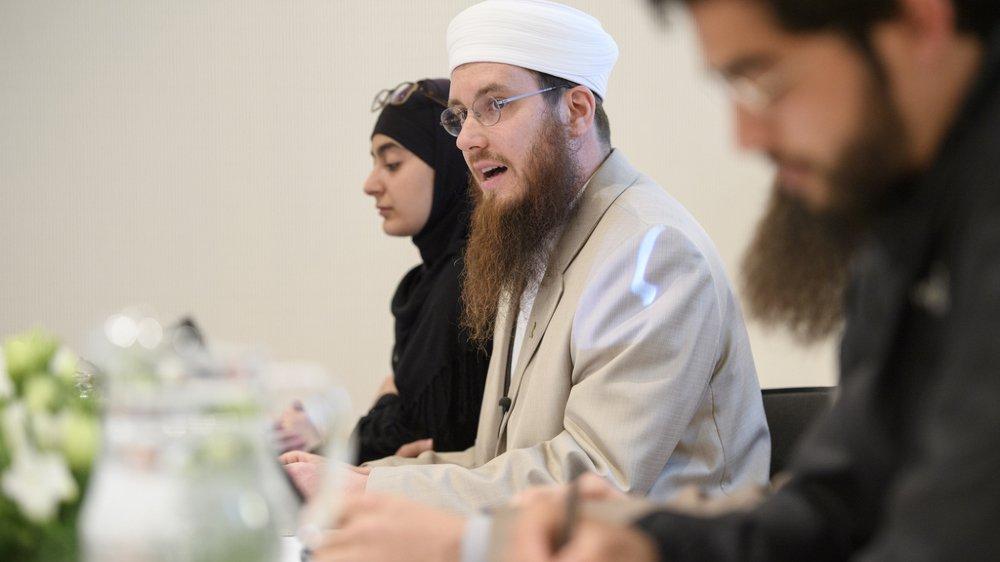 Nicolas Blancho, le président des islamistes suisses, accusé de propagande en faveur d'Al-Qaïda, face aux juges