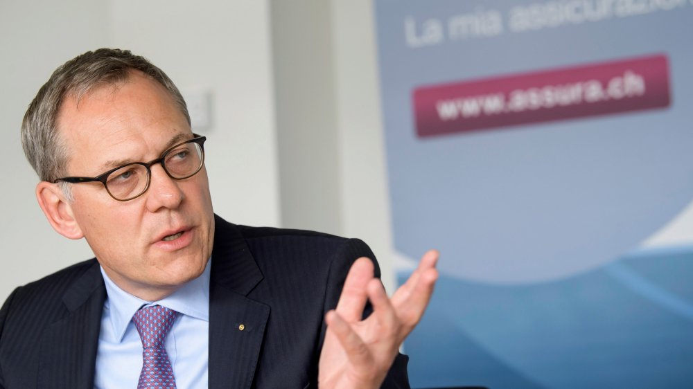 Le nouveau directeur général d'Assura, Ruedi Bodenmann, n'est pas favorable à une franchise  portée à 10000francs.