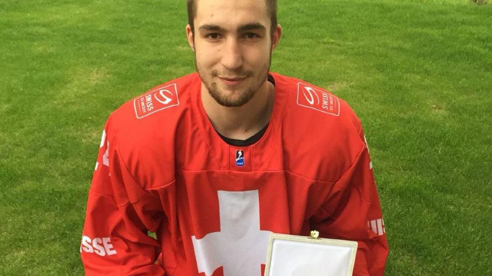 Une belle reconnaissance pour le hockeyeur valaisan.