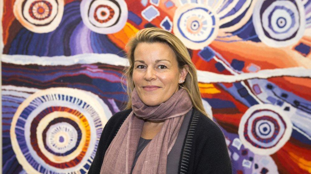 Passionnée d'art aborigène contemporain, Bérengère Primat reprend la Fondation Arnaud, qui devient la Fondation Opale.