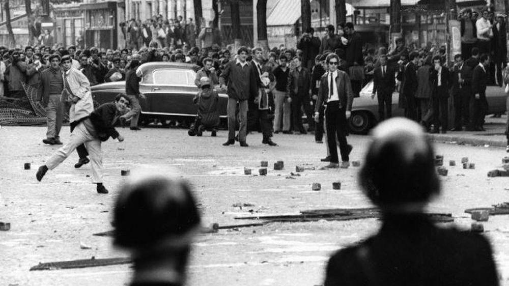 """Il y a 50 ans, les Valaisans découvraient Mai 68 dans """"Le Nouvelliste""""."""