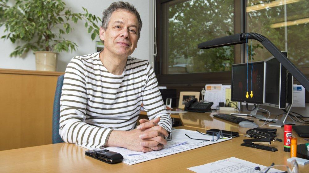 Directeur de BASF Monthey depuis 2016, Cédric Cossy est prêt à relever le challenge qui lui est proposé.