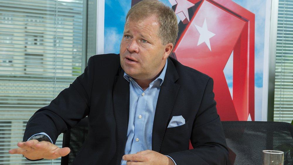 Pierre-Alain Grichting est le nouveau président de la Banque Cantonale du Valais.