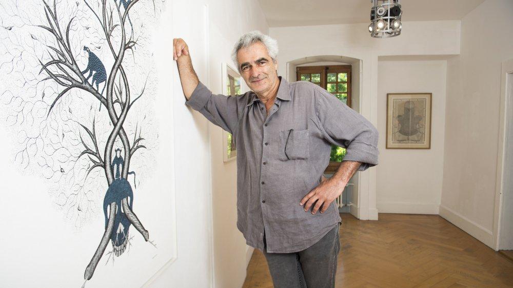 Hervé Perdriolle, commissaire d'exposition, collectionneur et critique d'art reconnu, éclaire l'art indien d'une façon inédite.