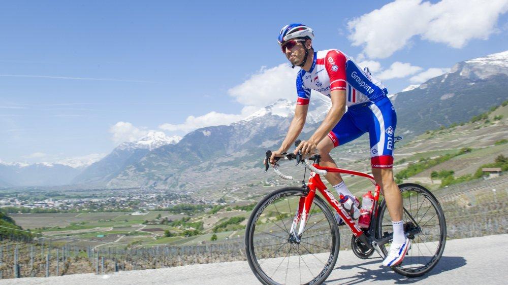 Steve Morabito rentre de la Poly Normande lundi et repart pour l'Espagne mercredi. La Vuelta débute samedi.