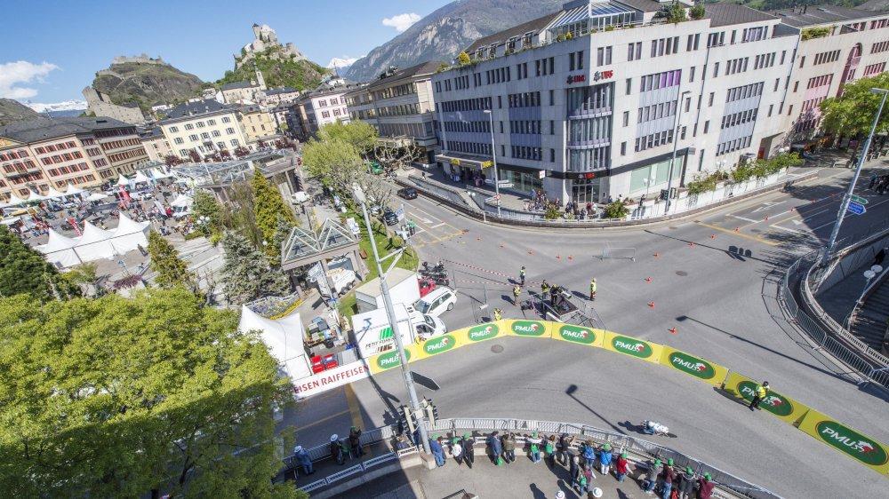 Tour de Romandie: circulation perturbée samedi à Sion
