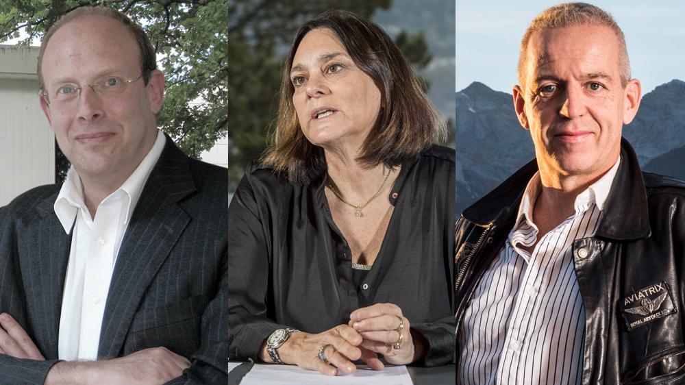 Le psychothérapeute Philip Jaffé, la bâtonnière Carole Ambord et l'avocat Grégoire Rey expriment tous les trois leurs envie de voir les APEA plus professionnelles.