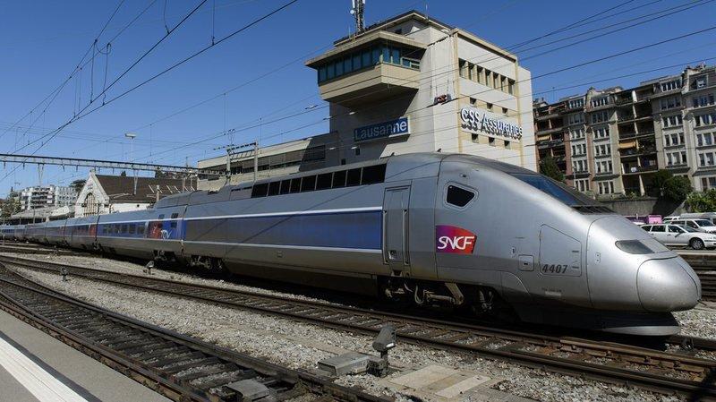 Deux aller-retours seront notamment maintenus entre Paris et Lausanne et deux entre Paris et Genève.