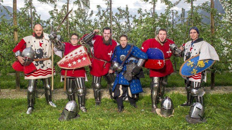 Béhourd: retour sur l'épopée des Valaisans qui ont participé au championnat du monde de combat médiéval