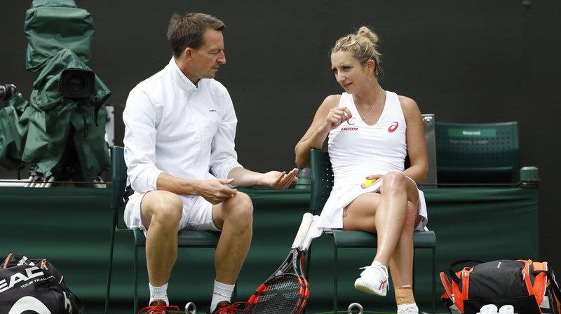 Tennis: la Vaudoise Timea Bacsinszky se sépare de son entraîneur Dimitri Zavialoff