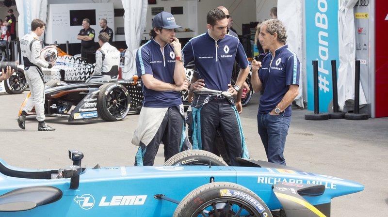 Alain Prost laisse la Formule E pour la F1