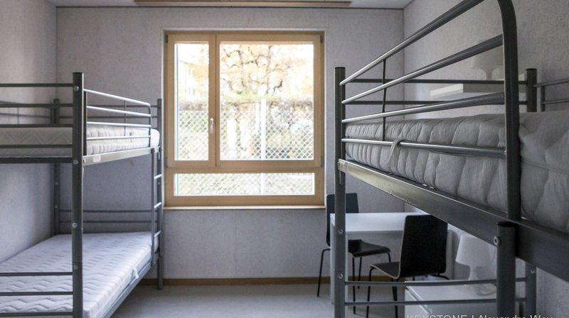 La criminalité est en hausse dans les centres de requérants d'asile suisses.