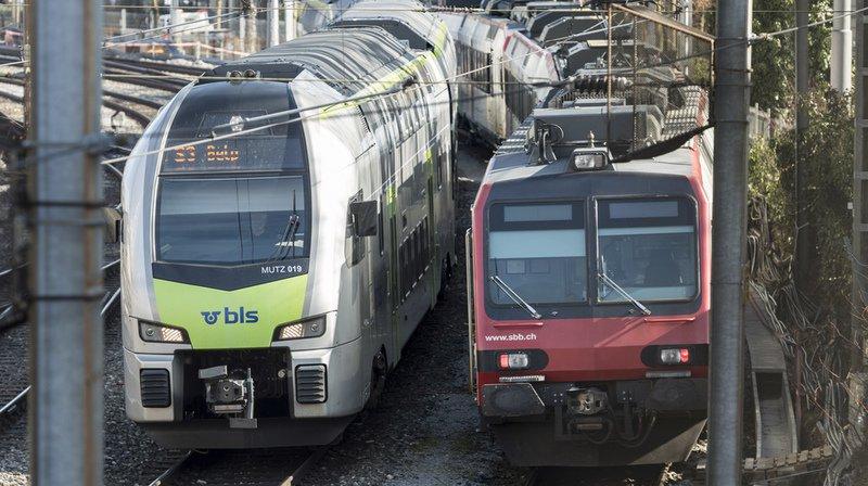 CFF: le partage de l'exploitation ferroviaire avec BLS entraînera une hausse des prix et d'une baisse de qualité, selon l'ex-régie