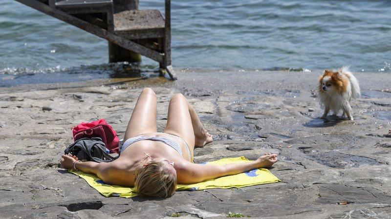 Météo: l'été s'est invité en Suisse durant le week-end