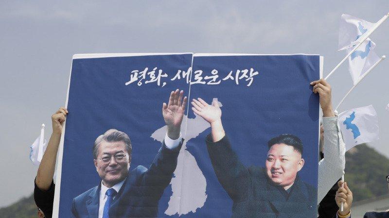 Péninsule coréenne: Moon et Kim se retrouveront sur la ligne de démarcation militaire