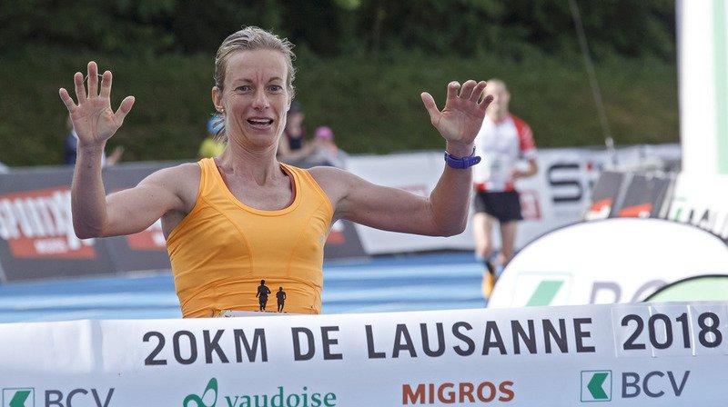 20 km de Lausanne: la Chablaisienne Laura Hrebec décroche la première place
