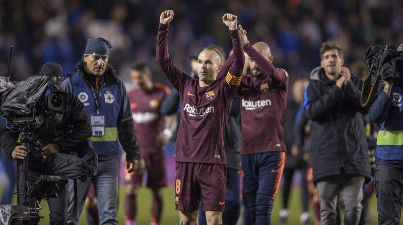 Football: le Barça pourrait devenir le premier club espagnol à gagner la Liga sans perdre en 38 journées