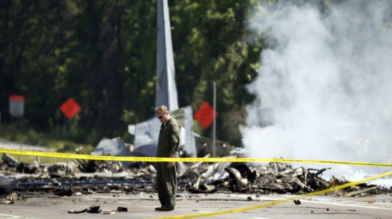 États-Unis: neuf morts dans le crash d'un avion-cargo militaire en Géorgie
