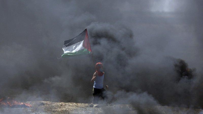 Manifestations palestiniennes contre le transfert de l'ambassade US — LIVEBLOG