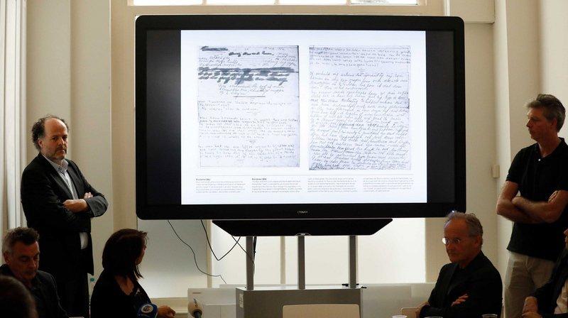 Des chercheurs ont retrouvé deux pages manquantes au journal d'Anne Frank