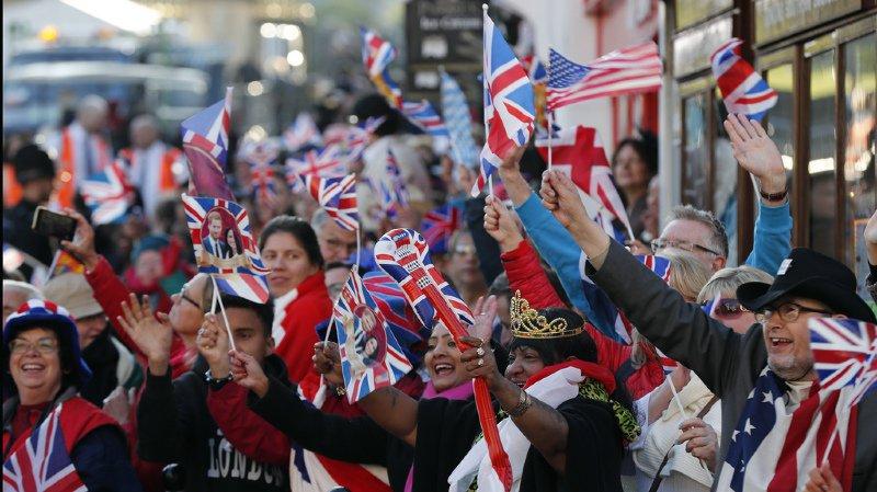 Jour J à Windsor: le prince Harry épouse l'ex-actrice américaine Meghan Markle