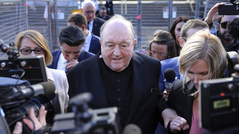 Australie: un archevêque coupable d'avoir caché des agressions pédophiles