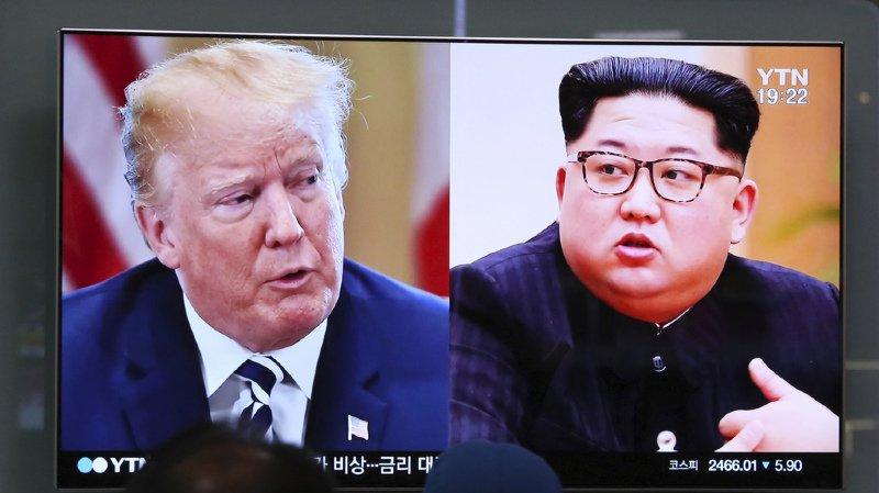 Péninsule coréenne: Trump annonce dans une lettre à Kim que leur sommet n'aura pas lieu